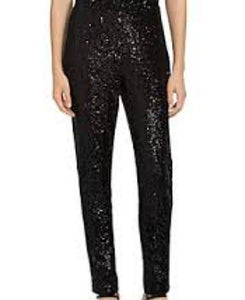 Justice Sequins Black Girls Trouser