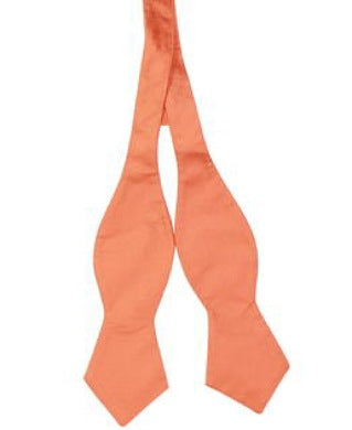 Tommy Hilfiger Orange Untie Bow Tie