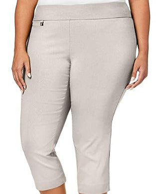 Alfani Summer Straw Capri Tummy control Women Trouser