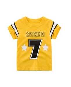 27 Kids Yellow T Shirt