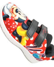 Load image into Gallery viewer, Minnie Mouse Red and Black Boy Shoe
