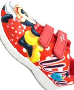 Minnie Mouse Red and Black Boy Shoe