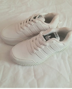 Adidas White Sport Shoes