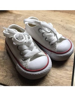 Converse All Star White Boys Shoe
