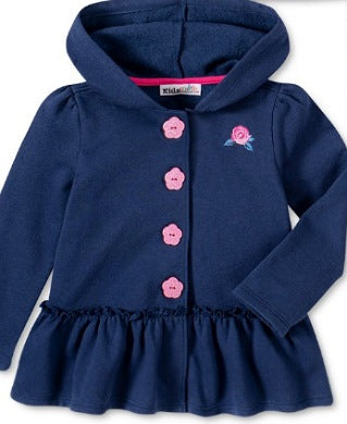 Kids Headquarter Navy Blue Girls Top