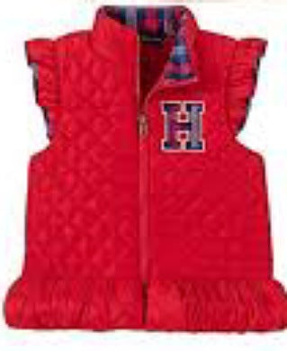 Tommy Hilfiger Red New Born Cardigan