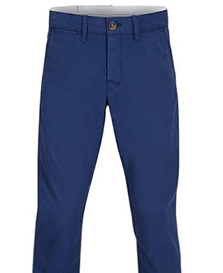Maxwell Navy-blue Men Chinos Trouser