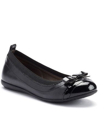French Toast Girls Black Slip-on Shoes