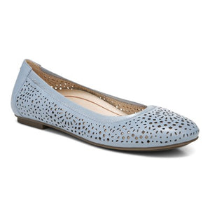 White Mt Blue slip- on Women Shoe
