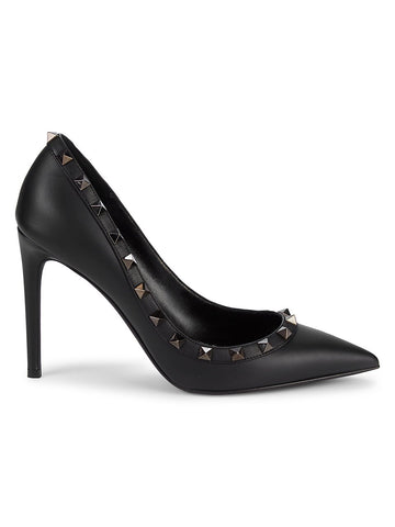 Valentino Garavani Studded Leather Stiletto Pumps