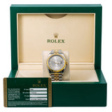 Rolex Datejust 116233 36MM Silver Dial With Two Tone Jubilee Bracelet