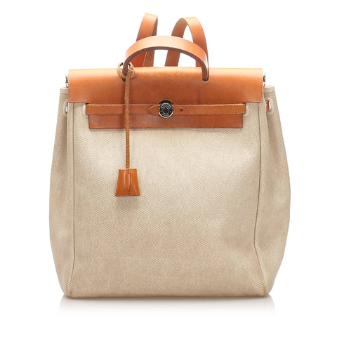 Hermes Brown Herbag Backpack