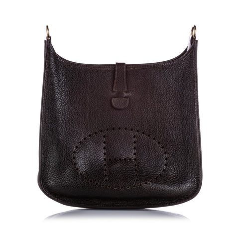 Hermes Brown Togo Evelyne I GM