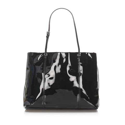 Prada Black Patent Leather Handbag
