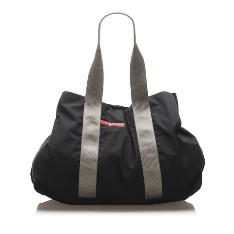 Prada Black Nylon Sport Tote Bag