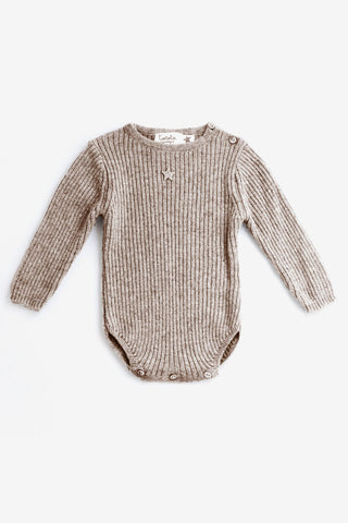 Tocoto Vintage Soft Wool Knit Bodysuit (Size 12M left)