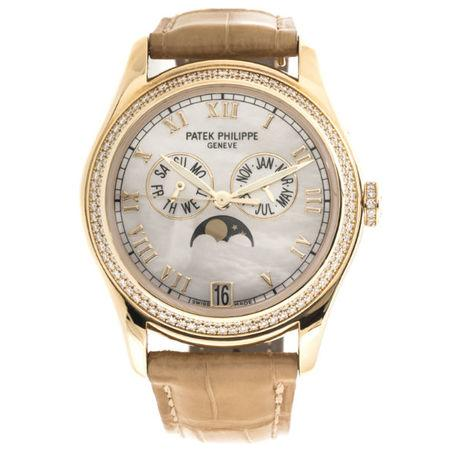 Patek Philippe 36MM 4936J-001 18K Yellow Gold Case and Bezel