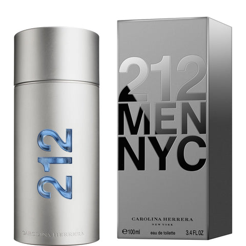 212  For Men By Carolina Herrera Eau De Toilette Spray 3.4 oz