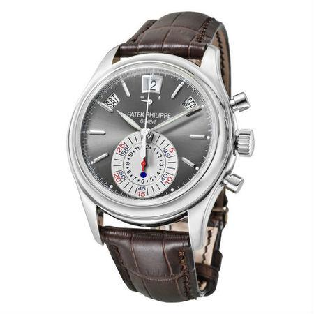 Patek Philippe Annual Calendar 40.5MM 5960P-001 Platinum Case and Bezel