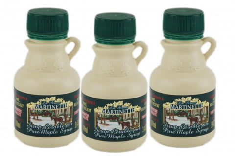 Pure maple syrup 3x100ml  A- Golden