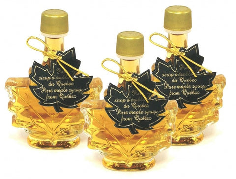 Pure maple syrup  A- Golden 3x50ml -Maple leaf