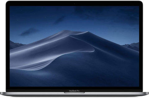 "Apple 15.4"" MacBook Pro with Touch Bar, Intel Core i7 Six-Core, 16GB RAM, 256GB SSD, AMD Radeon Pro 555X - Mid 2019, Space Gray (Renewed)"