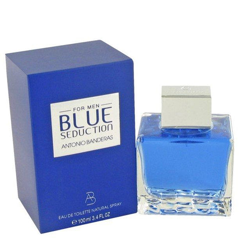 Blue Seduction For Men By Antonio Banderas Eau De Toilette Spray 3.4 oz