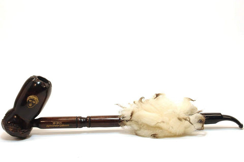 Abyssinian Servant Pear Wood Tobacco Pipe