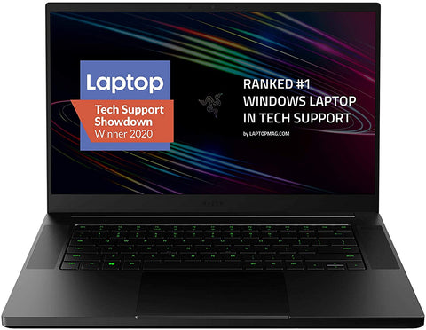 Razer Blade 15 Base Gaming Laptop 2020: Intel Core i7-10750H 6 Core, NVIDIA GeForce RTX 2070 Max-Q, 15.6""