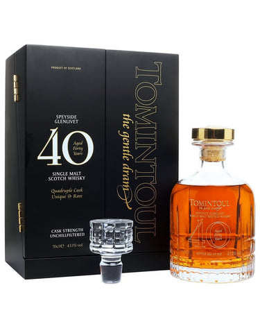 Tomintoul 40 Year Old