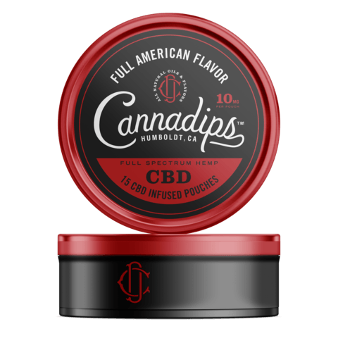 Cannadips CBD Pouches American Spice