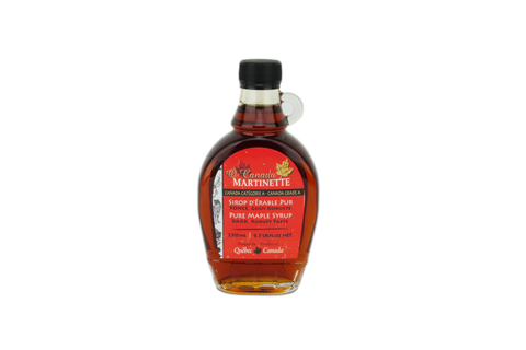 O CANADA- Pure maple syrup -Dark, Robust taste 250ml