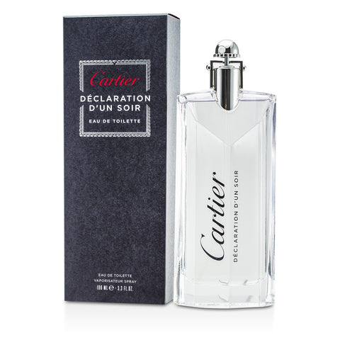 Declaration D' Un Soir For Men By Cartier Eau De Toilette Spray 3.4 oz