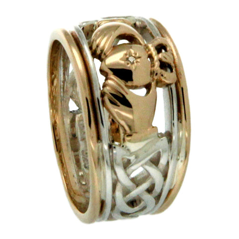 Claddagh Stack Ring