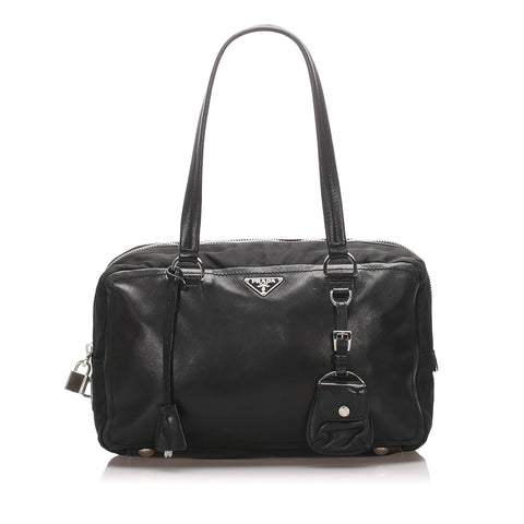 Prada Black Leather Handbag