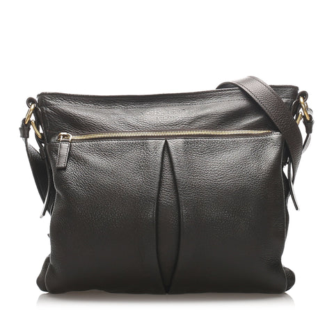 Prada Black Leather Crossbody Bag