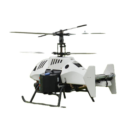 Land and Sea area long range surveillance cargo delivery 100kg payload helicopter
