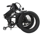 20in Full Suspension Folding All Terrain Fat Tire Electric Bicycle 500w 750w snow ebike