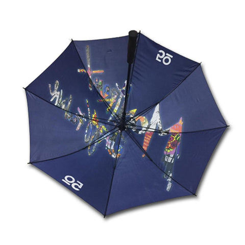 Full Color Canopy Golf Umbrella - #6016