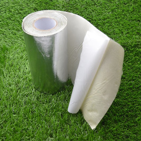Great waterproof power  aluminium foil turf seaming tape for artificial grass