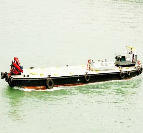 steel deck barge/ flat bottom transportation barge