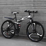 Adult High carbon steel parts bike,suspension fork disc brake road bike 21speed mtb mountain folding bicycle/