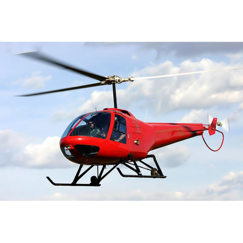 High Safety 280FX  Light Multi-purpose Light Piston Helicopter with Excellent Turbocharged Power System