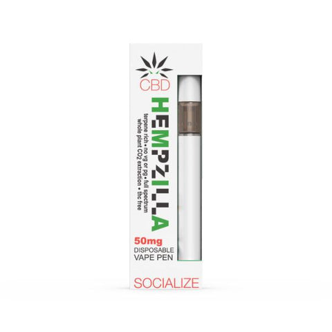 Hempzilla CBD Disposable Pens