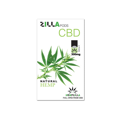 Hempzilla Natural CBD Pods