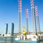 225FT SEU OFFSHORE Three-legged Self-Elevatin Accommodation Unit Ship For Sale
