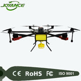 Agriculture UAV pesticide spraying drone 15kg payload drone quadcopter rc drone helicopter with hd camera and gps
