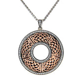 Luxury Brave Heart Round Pendant