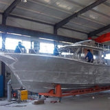 14M ALUMINUM FISHING BOAT WITH INBOARD ENGINES
