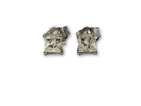 Luxury Style Earrings 0.50ct Diamants